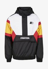 Starter - Outdoor jacket - blk/wht/starter red/golden - 5