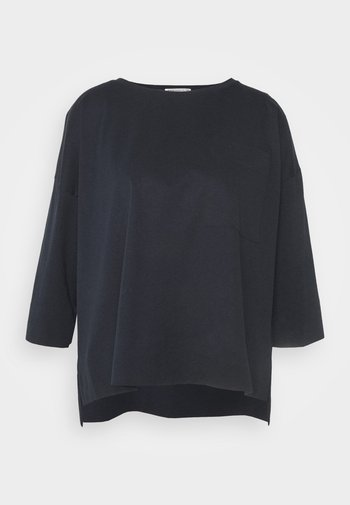 KAORI - Long sleeved top - dark blue