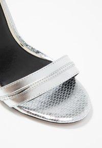 River Island - High heeled sandals - silver - 2
