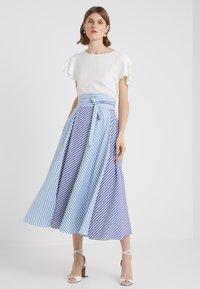 Bruuns Bazaar - LILLI RACHEL  - Bluse - snow white - 1