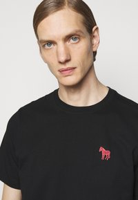 PS Paul Smith - SCRIBBLE ZEBRA - T-shirt basic - black - 3