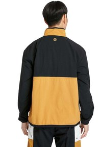 Timberland - OUTDOOR ARCHIVE PACKABLE  - Windbreaker - black white sand wheat - 2
