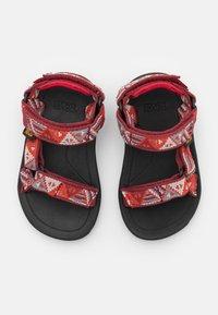 Teva - HURRICANE XLT 2 KIDS UNISEX - Walking sandals - chilli pepper - 3