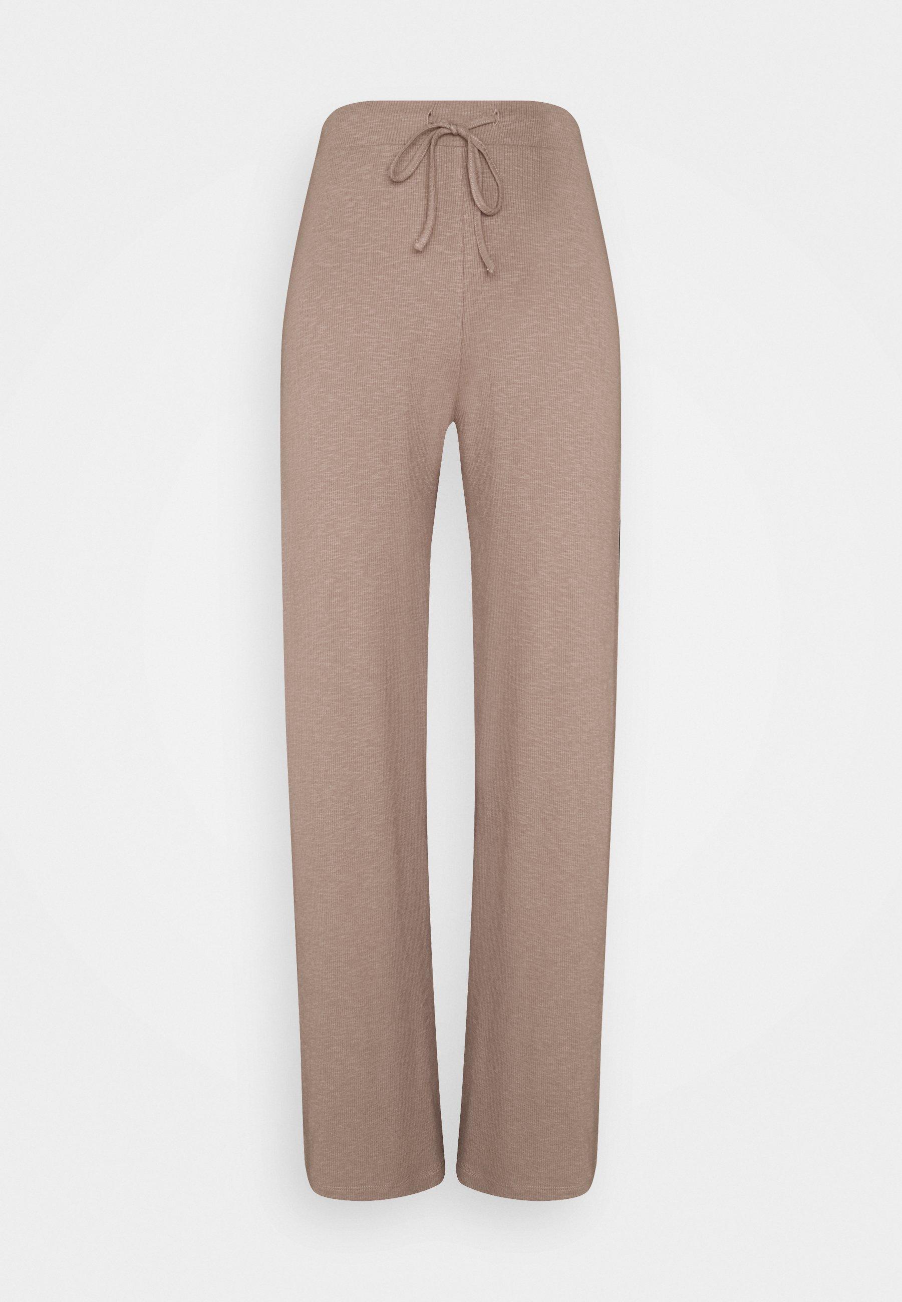 Femme PCLASA WIDE PANT LOUNGE  - Pantalon classique