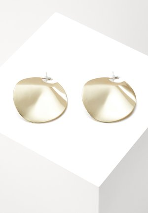 PHOEBE BIG ROUND - Boucles d'oreilles - gold-coloured
