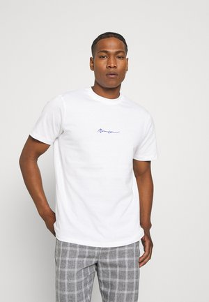ESSENTIAL REGULAR RELAXED BASIC TEE - Camiseta básica - white