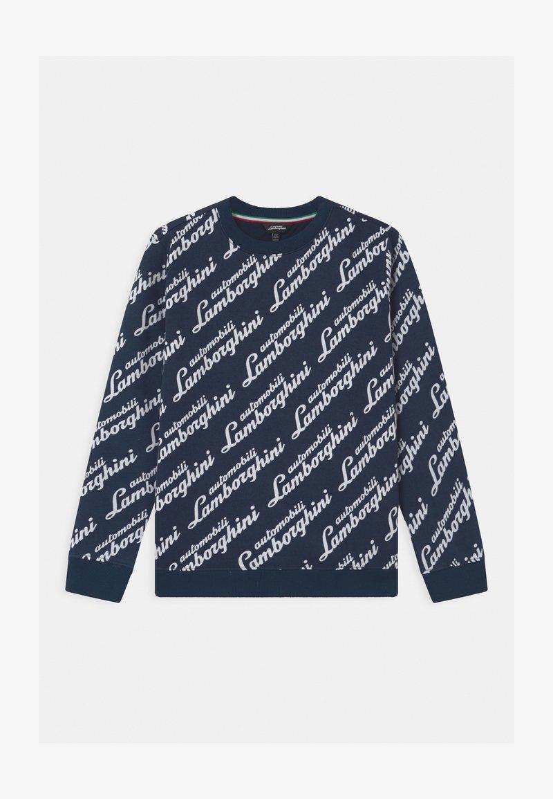 Automobili Lamborghini Kidswear - LOGOSCRIPT - Sweatshirt - blue hera