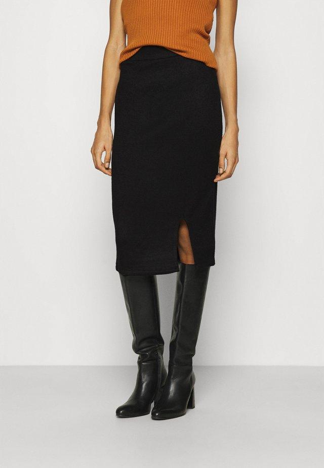 Falda de tubo - black