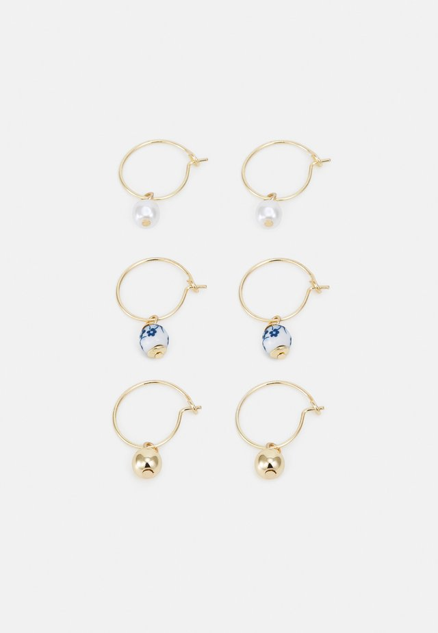 FRESIA HOOP 3 PACK - Boucles d'oreilles - gold-coloured