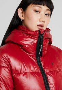 G-Star - WHISTLER LONG HIGH SHINE - Abrigo de invierno - red - 3