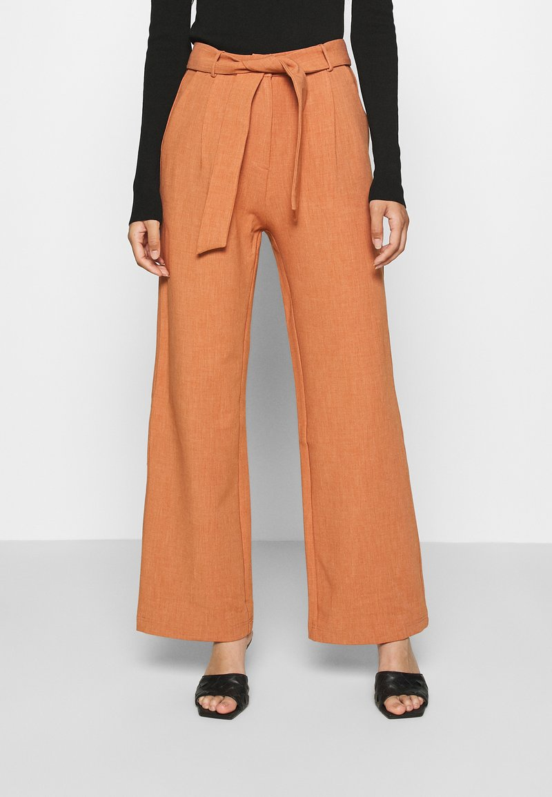 4th & Reckless - DELLA TROUSER - Trousers - light rust