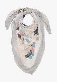 s.Oliver - Foulard - cream placed print - 3