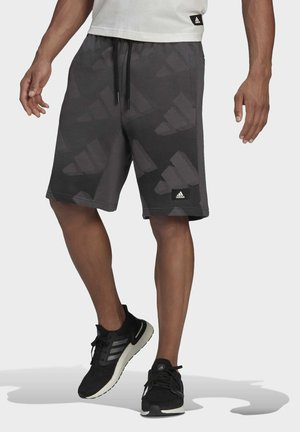 M FI Graphic SH BD MUST HAVES SPORTS REGULAR SHORTS - Sports shorts - grey