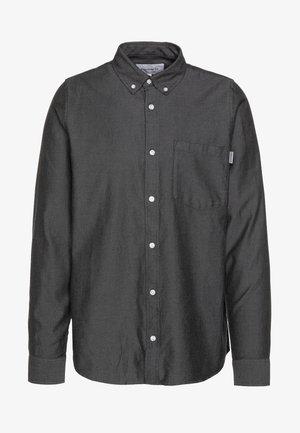 DALTON - Skjorte - black/shiver heavy rinsed