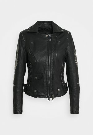 DIANE JACKET - Leather jacket - black