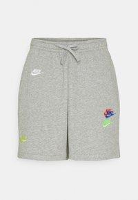 Shorts - dk grey heather/base grey