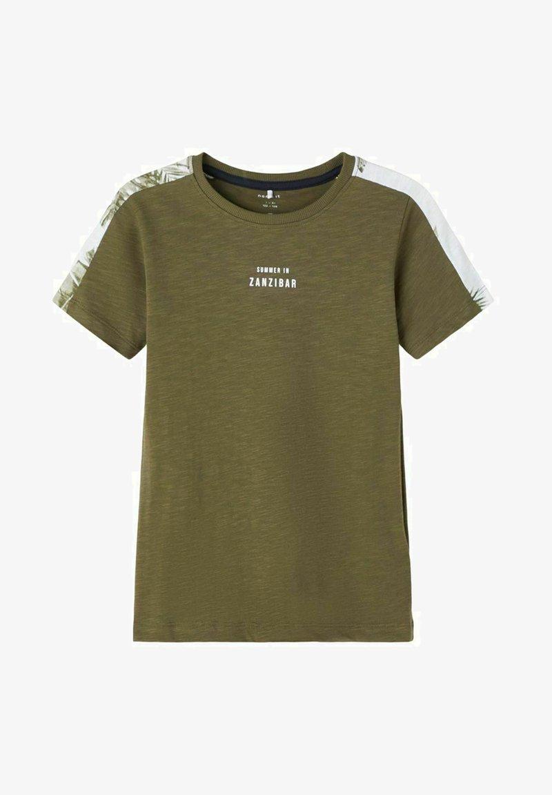 Name it - Print T-shirt - ivy green