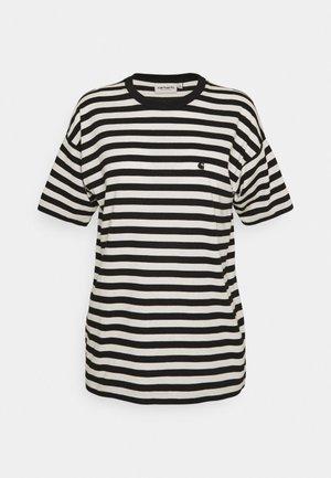 SCOTTY - Print T-shirt - black/wax