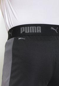 Puma - Sports shorts - black/asphalt - 4