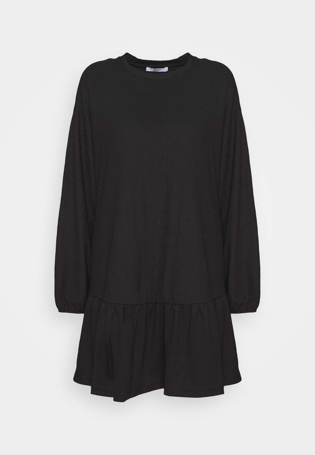 ONLGAYA SHORT DRESS - Vapaa-ajan mekko - black