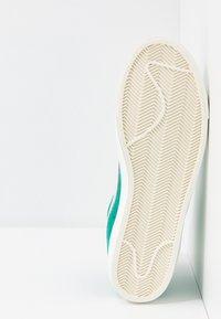 Nike Sportswear - BLAZER MID '77 UNISEX - High-top trainers - neptune green/pure platinum/sail - 5