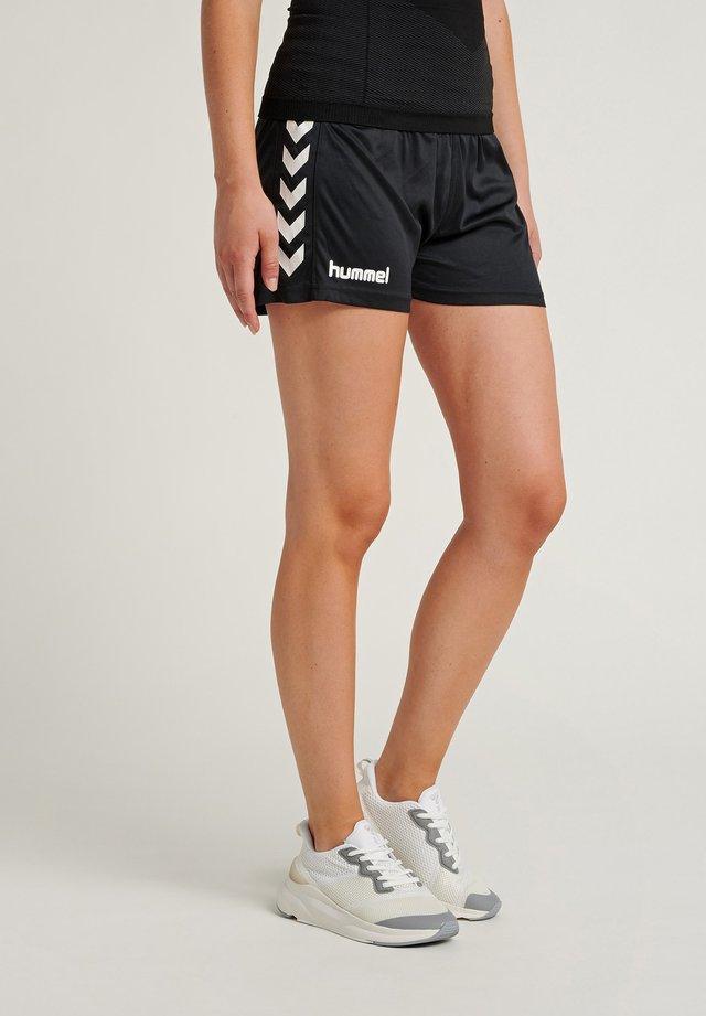 CORE - Korte sportsbukser - mottled black