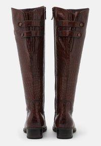 Tamaris - Vysoká obuv - mahogany - 3