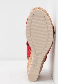 Gabor - High heeled sandals - flame - 6