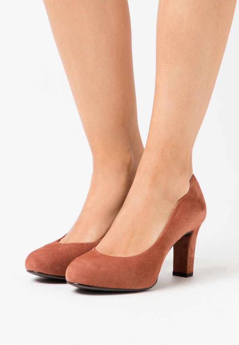 Unisa - NUMIS - Platform heels - tiffany