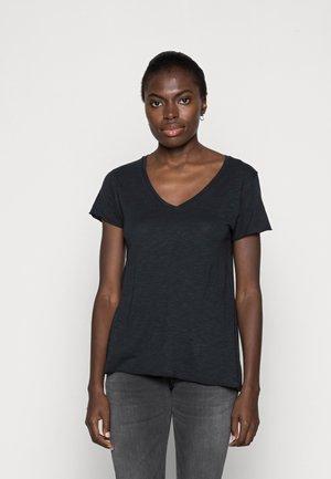 JACKSONVILLE V NECK TEE - T-shirt - bas - navy
