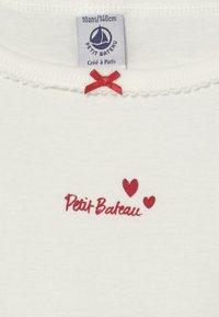 Petit Bateau - HEART 2 PACK - Undershirt - white/red - 3