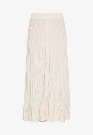 BOGA GONNA COSTA PIATTA - Maxi skirt - beige maroso