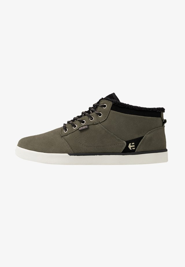 JEFFERSON MID - Skate shoes - olive/black