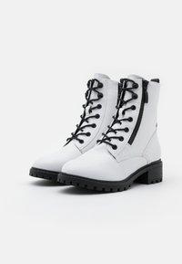 Esprit - KONSTANZ - Snørestøvletter - white - 2