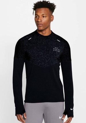 RUN DIVISON  - Sports shirt - schwarz