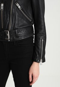 AllSaints - BALFERN BIKER - Leather jacket - black - 3