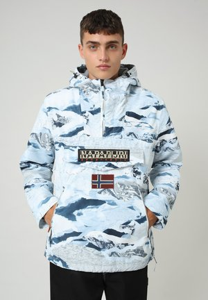 RAINFOREST POCKET PRINT - Välikausitakki - camou ice f2k