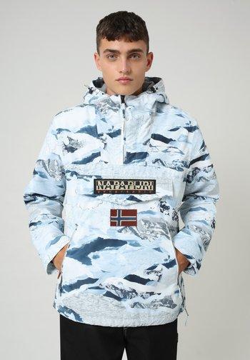 RAINFOREST POCKET PRINT - Winter jacket - camou ice f2k