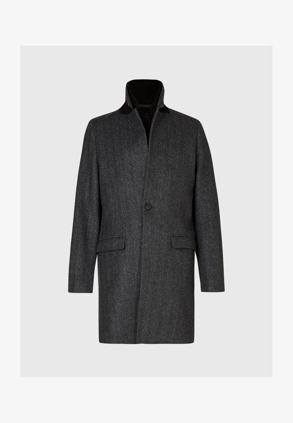 AllSaints Płaszcz wełniany /Płaszcz klasyczny - grey/szary Odzież Męska EAPG