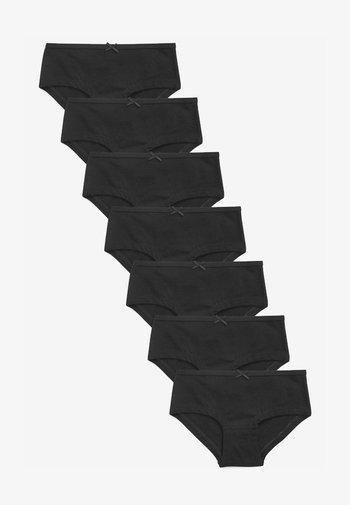 SEVEN PACK  - Briefs - black