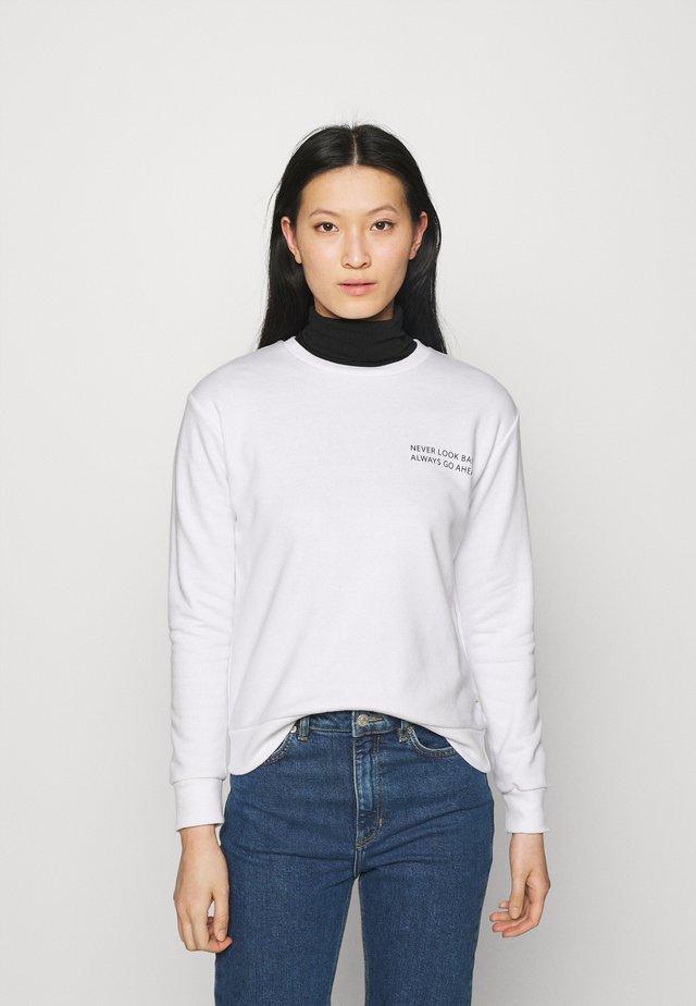 HAYIPA - Sweater - white/white