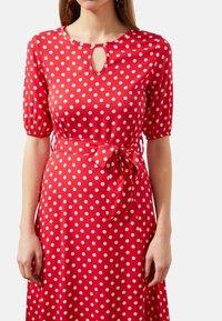 Trendyol - Day dress - red - 4