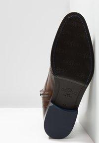 Giorgio 1958 - Lace-up ankle boots - marrone/blu - 4