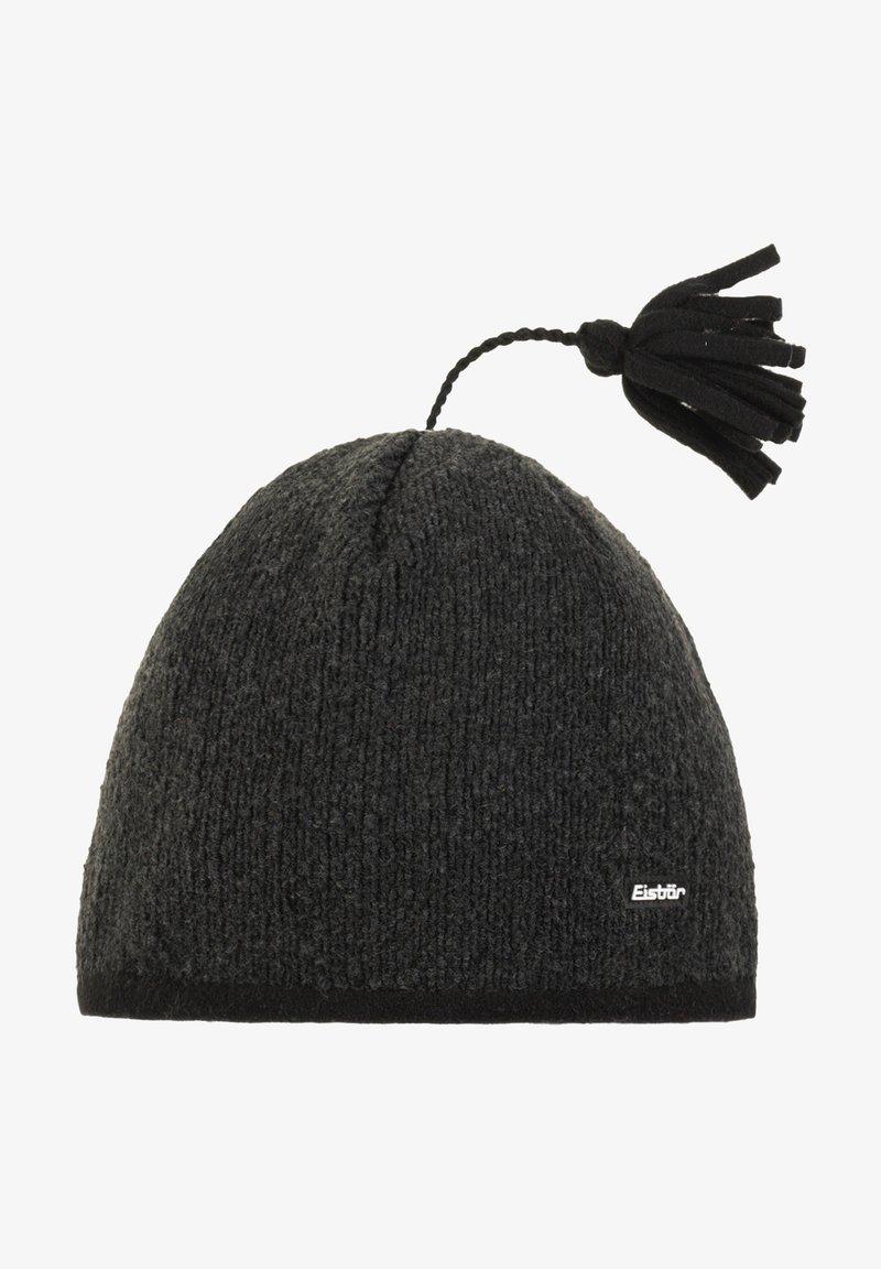 Eisbär - Mütze - schwarz