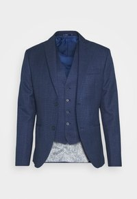 Isaac Dewhirst - CHECK SUIT - Suit - blue - 2