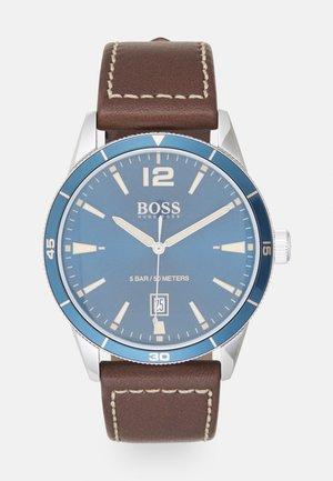 DRIFTER - Watch - brown/blue