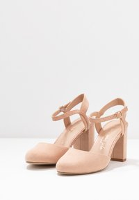 New Look Wide Fit - WIDE FIT SHUTTER 2PART - Zapatos altos - oatmeal - 4