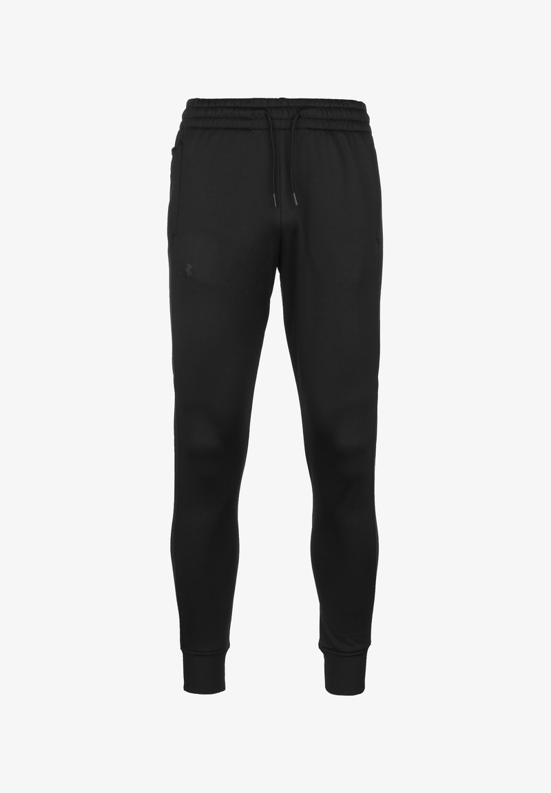 Under Armour - Tracksuit bottoms - black