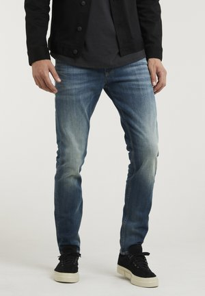 CROWN ELI - Slim fit jeans - blue denim