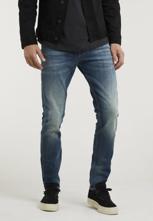 CROWN ELI - Jeans slim fit - blue denim